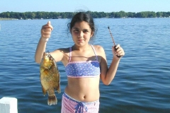 29. Rock Bass from Lake Delavan, Wisconsin Leanna K. Florida